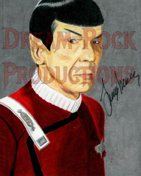 Spock - Wrath of Khan Signed by Lord-Dream-Stalker