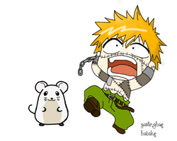 HOLY CRAP A MOUSE by Saranghae-Hatake