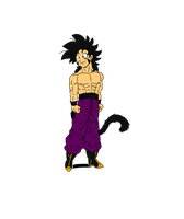Shirtless Rez sketch 1 (flat-colored) by chrisolian
