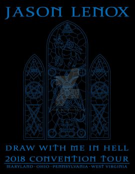 2018 Shirt Back DRAW WITH ME IN HELL by Jason-Lenox