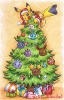 Pokemon Christmas Card v2