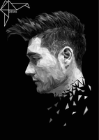 Dan Smith from BASTILLE (Low Poly) +speed art by DEliAs7