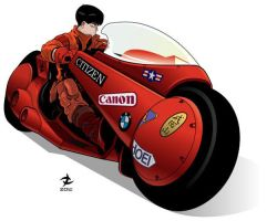 Kaneda by Tloessy
