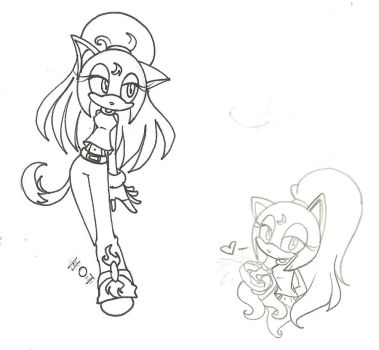 CP: Lineart and sketch 1 by Misfortune09