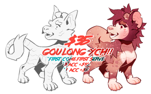 Another Goulong YCH! [CLOSED] by kasettetape