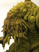 Cthulhu detail by shaungent