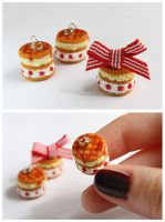 Shortcake Charms by thinkpastel