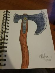 Leviathan Axe  by TheNoodleMoose