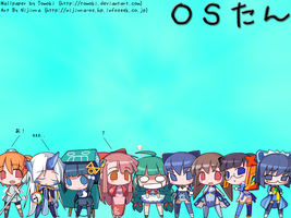 OS-tan. by tomoki
