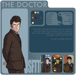 SftT: The 10th Doctor by Girl-on-the-Moon