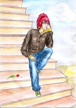 Renji. Free time. by Morgi-chan