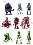 Creature design project 1 by mobius-9