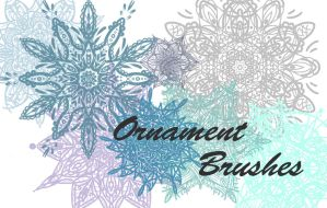 Ornament brushes by Rikel28