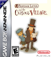 Prof. Layton the Curious Village GBA Box by Dollarluigi
