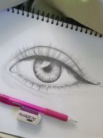 Eye sketch by passmethe-mexicans