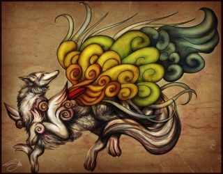 Okami - Shiranui by Lyswen