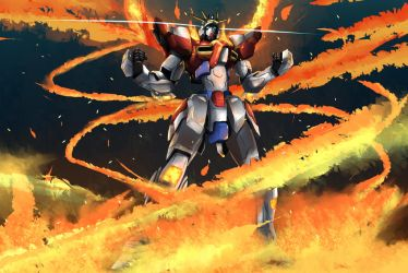 Build Burning Gundam by datalyf