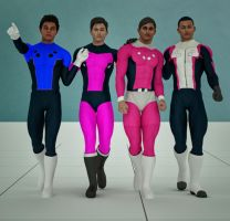 Cosmic Boy 2nd skin textures for M4 by hiram67