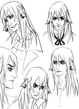 Felix: Expressions Sketches by RealDandy