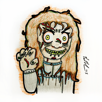 Exorcist Will Scratch You by chelano