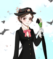 Mary Poppins by TheStarKeepers