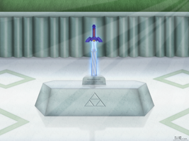 Master Sword 11272011 by BLUEamnesiac