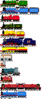 The engines of the main line by Champ2stay