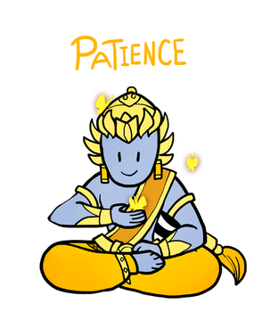 Smite -  Patience (Chibi) by Zennore