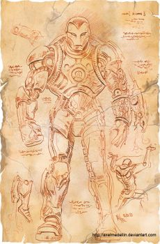 TLIID 156. Da Vinci's Iron Man, part 3 by AxelMedellin