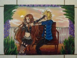 Eleo and Oliver by kathe-cat