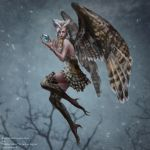 Owl fairy by anotherwanderer