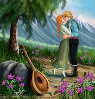 ROMANCE ON THE MOUNTAIN by FERNL