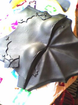 FFXIII-2 Lightning WIP (Breastplate front) by Elphiria