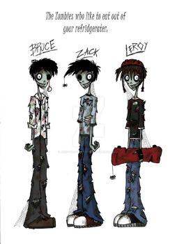 Zombie Boys-Colored by jack-the-pmpkn-queen
