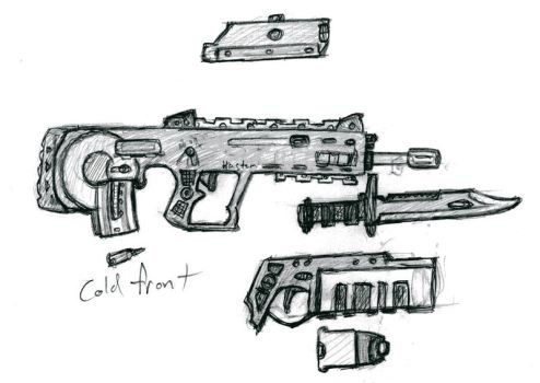coldfront stylized bullpup by dranor44