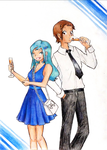 Brendan and Lisia party style by NoLife-sama