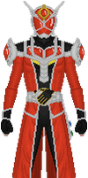 Kamen Rider Wizard, Flame Dragon Style by Taiko554