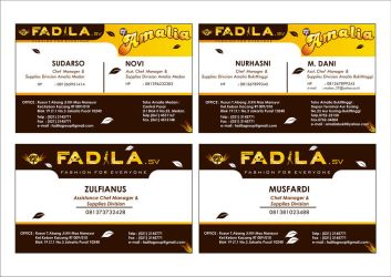 FADILA NAME CARD by mumu145