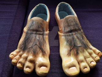 hobbit feet finished by Bappi-1