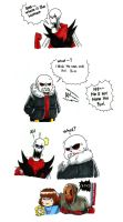 The Human  (underfell) by gmil123
