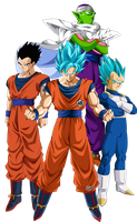guerreros z by naironkr