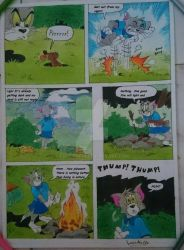 Tom And Jerry Comics Page by LoveMuf1n