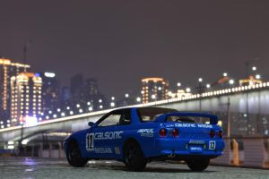 Godzilla of JTCC 2 by nismoz
