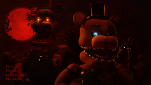 Reality and The Nightmare (fnaf sfm) by JR2417