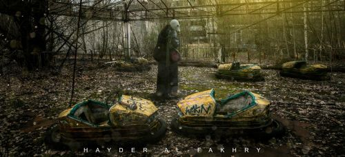 Chernobyl disaster by Hayderalfakhry