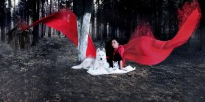 Red little riding hood by BENAFOG