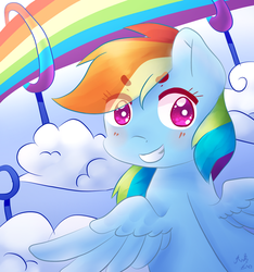 Rainbow's coming by CometSparke