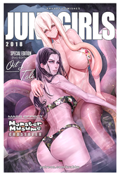 The Most Exotic Duo Ever - Oct and Tali June Girls by Montteiro