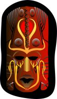 African Mask by archizero