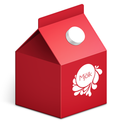 Milk Carton Icon by TinyLab